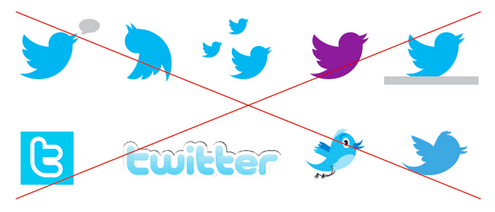 Pautas para usar la marca Twitter